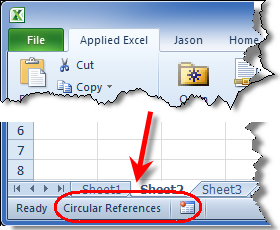 Circular Reference Notifcation