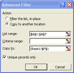 Advanced Filter Box