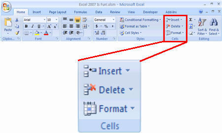 screenshot_home ribbon_cell_format